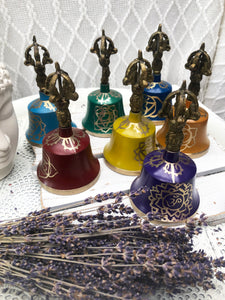 Chakra Bells - Set of 7 Brass Bells | Crystal Karma by Trina