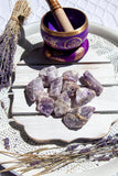 Chevron Amethyst Rough Small - Crystal Karma By Trina