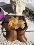 Citrine Tumbles Large | Crystal Karma by Trina