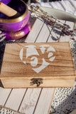 Smudge Kit Sage Selenite Palo Santo Tourmaline Love - Crystal Karma by Trina