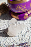 Clear Quartz Cluster #4 | Crystal Karma by Trina