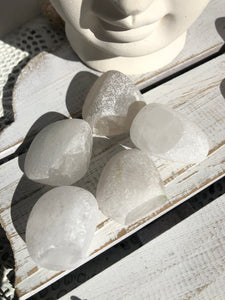 Clear Quartz Seer Stones | Window Stones | Ema Stones | Crystal Karma by Trina
