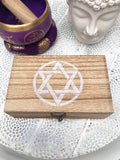 Smudge Kit Sage Selenite Palo Santo Tourmaline - Crystal Karma by Trina