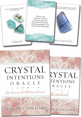 Crystal Intentions Oracle Cards - Crystal Karma By Trina