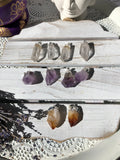 Amethyst Plated Point Pendants | Crystal Karma By Trina