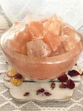 Himalayan Salt Lamp Fire Bowl - Crystal Karma By Trina