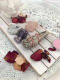 Well Being Crystal Sage Set | Crystal Karma by Trina