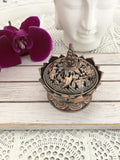 Tibetan Lotus Flower Trinket Bowl - Crystal Karma by Trina