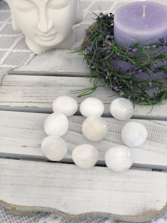 Selenite Spheres - Small - Crystal Karma By Trina