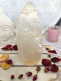 Selenite Tower Lamp 20cm - Crystal Karma By Trina