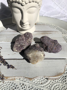 Lepidolite Rough Stones - Small | Crystal Karma by Trina
