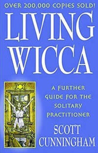 Living Wicca Book Scott Cunningham | Crystal Karma by Trina