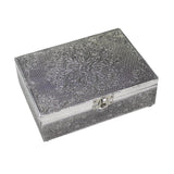 Mandala Aluminium Metal Box | Crystal Karma By Trina