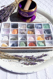 Mixed Rough Crystal Set of 24 | Crystal Karma by Trina