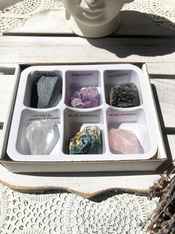 Mixed Raw Crystal Tray #1 | Crystal Karma by Trina