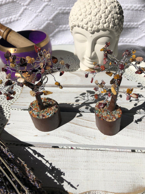 Mookaite Tumble Tree - Crystal Karma by Trina