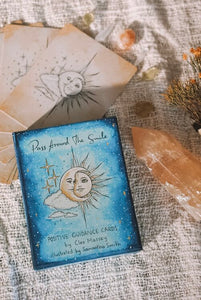 Pass Around The Smile Positive Guidance Cards | Crystal Karma by Trina