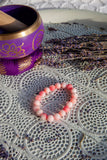 Pink Jade Stretch Bracelets | Crystal Karma by Trina