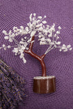 Rainbow Moonstone Crystal Tree Brown Trunk Medium | Crystal Karma by Trina