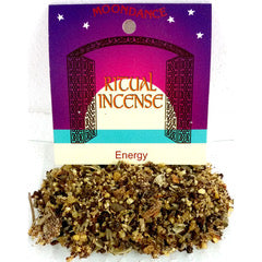 Ritual Incense Mix ENERGY 20g packet | Crystal Karma By Trina