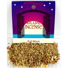 Ritual Incense Mix FULL MOON 20g packet | Crystal Karma By Trina