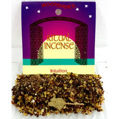 Ritual Incense Mix INTUITION 20g packet | Crystal Karma By Trina