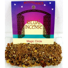Ritual Incense Mix MAGIC CIRCLE 20g packet | Crystal Karma By Trina
