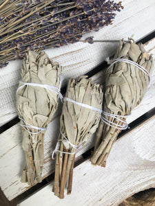 White Sage Smudge Stick - Torch | Crystal Karma by Trina