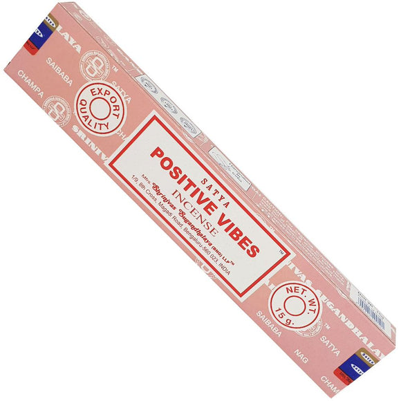 Positive Vibes Incense Sticks | Crystal Karma By Trina