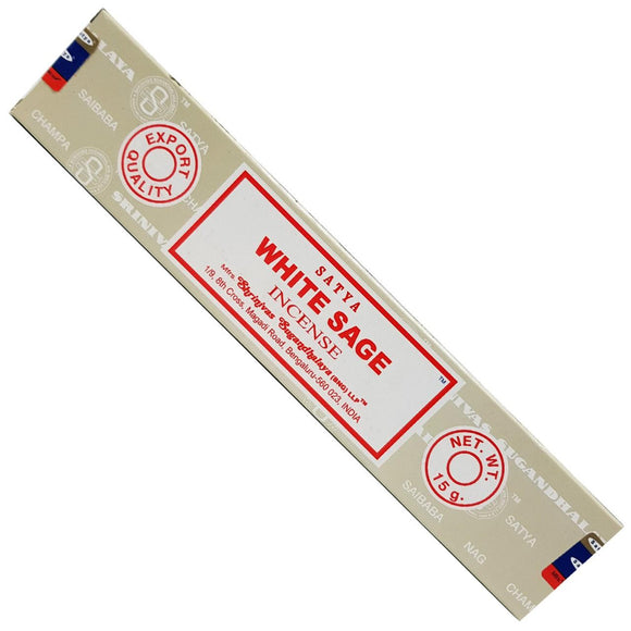 White Sage Incense Sticks | Crystal Karma By Trina