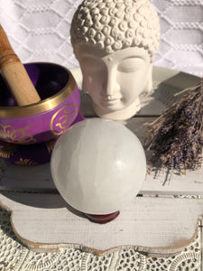 Selenite Spheres - Crystal Karma By Trina