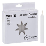 Wish Candles White | Crystal Karma by Trina