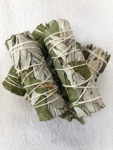 Eucalyptus Sage Smudge Stick | Crystal Karma by Trina