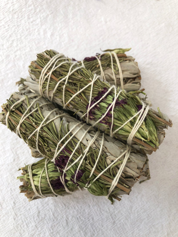 Sweet Morning Sage Smudge Stick | Crystal Karma by Trina