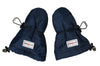 Navy Blue Baby Mitts with Adjustable Toggles - Waterproof Gloves with Fleece Lining for Babies - Stonz