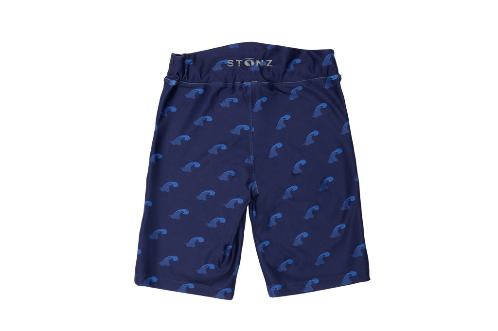 Shorts - Big Surf Print - Raised back waistband for coverage of lower back - Stonz