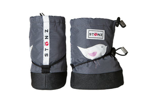 Baby Booties - Bird - Weather-resistant Boots for Babies