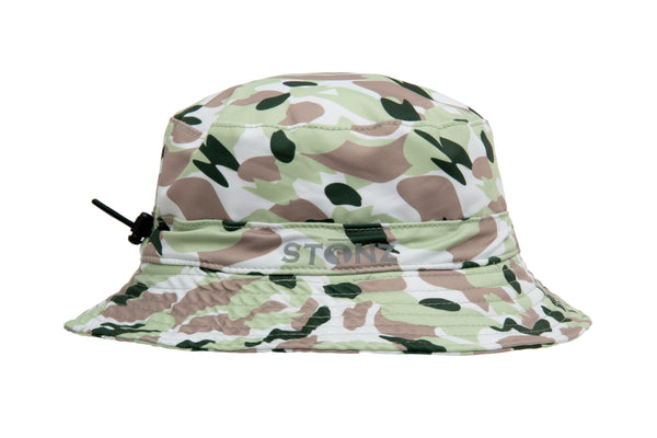 Bucket Hat - Camo - Green