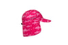 Flap Cap - Fuchsia/Shark