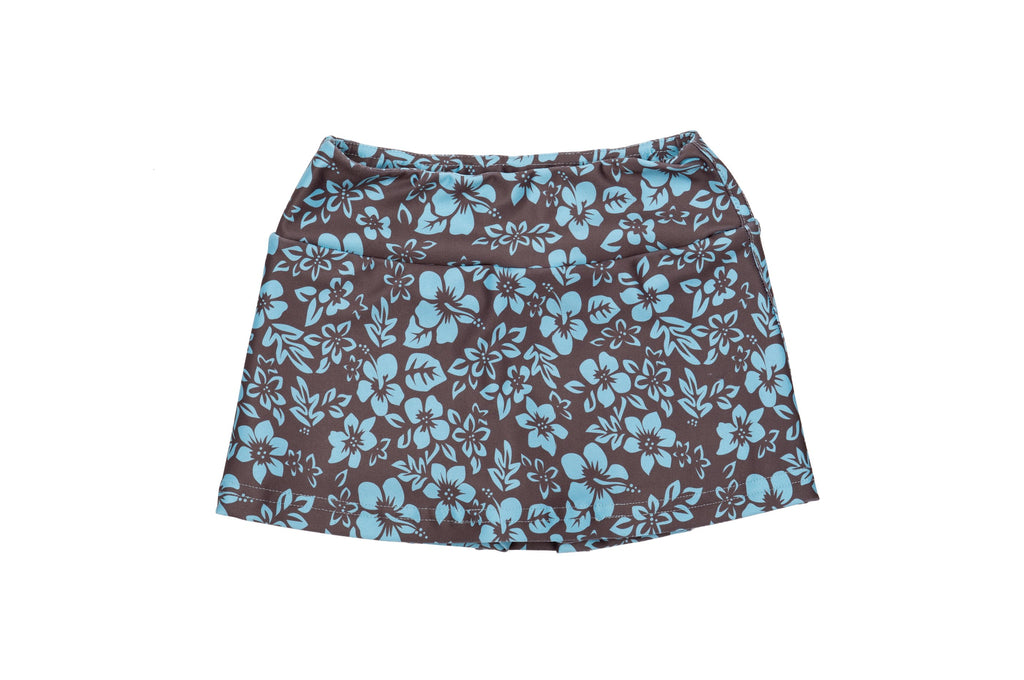Floral Skorts - Flat waistband prevents bunching for girls - Stonz