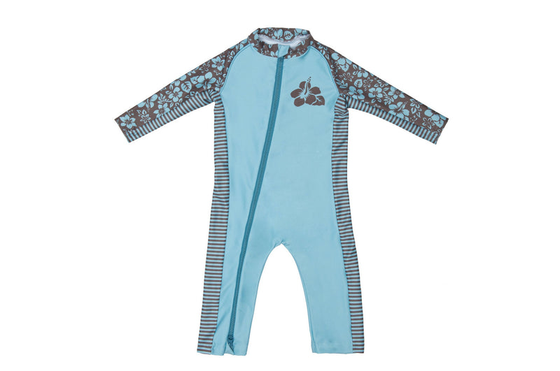 Sun Suit - Floral Print - UPF 50 Sunwear Collection for Babies - Stonz