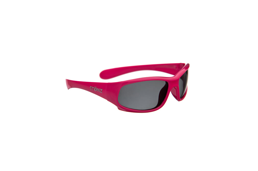 Kid Polarized Sunnies - Fuchsia