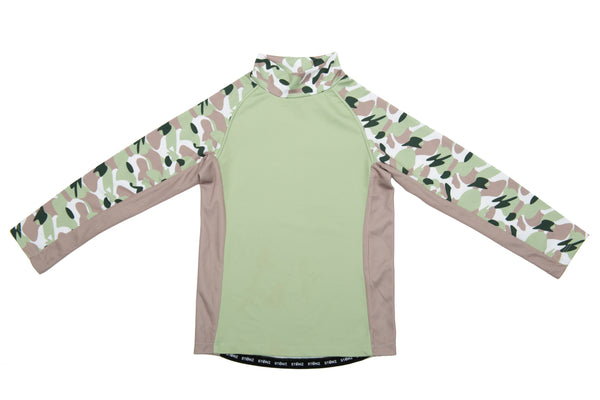 Kid Top - Camo - Green