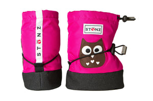 Baby Booties - Owl - Weather-resistant Boots for Babies - Stonz