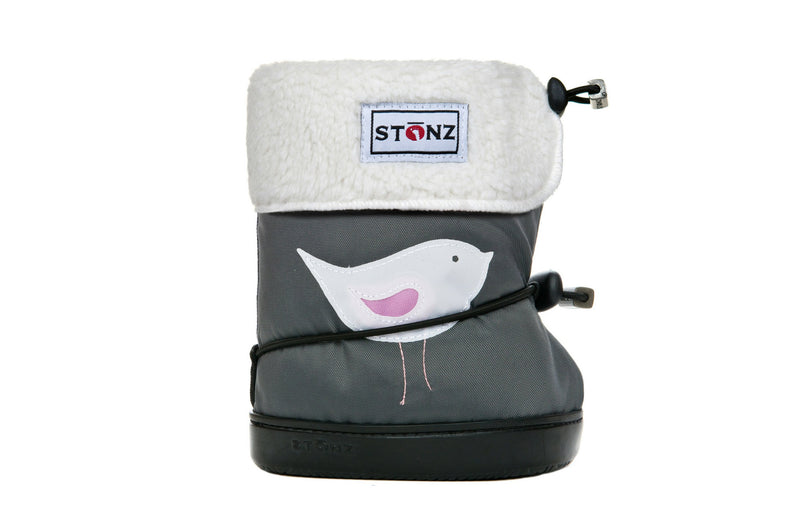Toddler Booties with Liner - Bird - Weather-resistant Boots for Children - Stonz