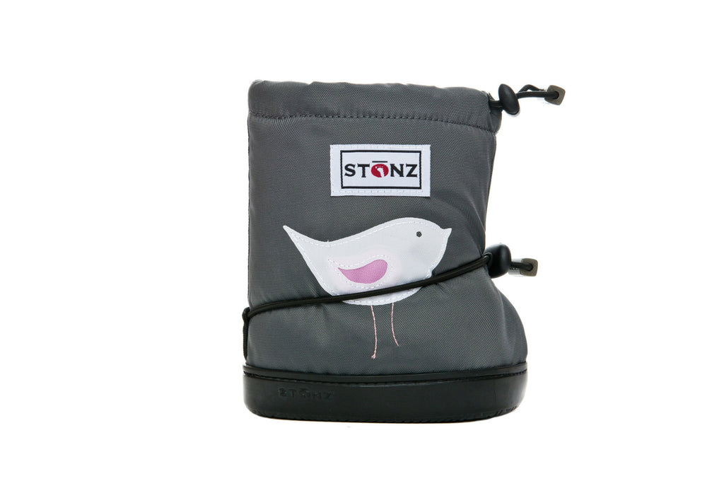 Toddler Booties - Bird - Front View - Weather-resistant Boots for Children - Stonz
