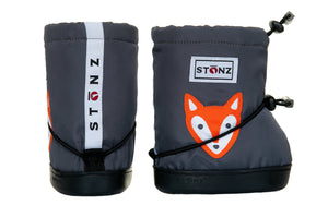 Toddler Booties - Fox - Weather-resistant Boots for Babies - Children