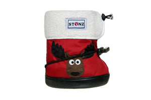 Toddler Booties - Moose
