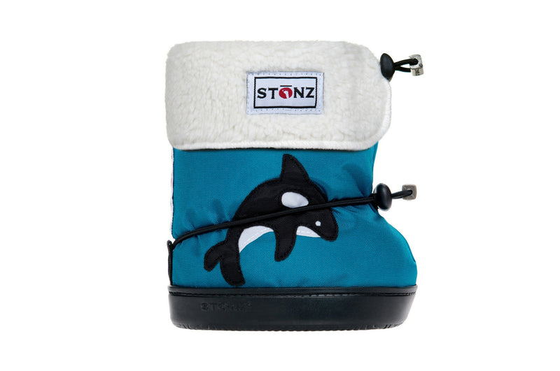 Toddler Booties with Liner - Orca - Weather-resistant Boots for Children - Stonz