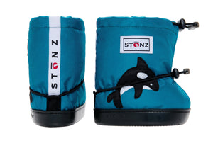 Toddler Booties - Orca - Weather-resistant Boots for Babies - Children
